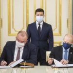 При участии президента Украины Энергоатом и Westinghouse подписали контракт о поставках ядерного топлива для реакторов типа ВВЭР-440